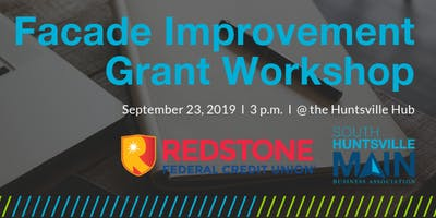South Huntsville Facade Improvement Grant Workshop