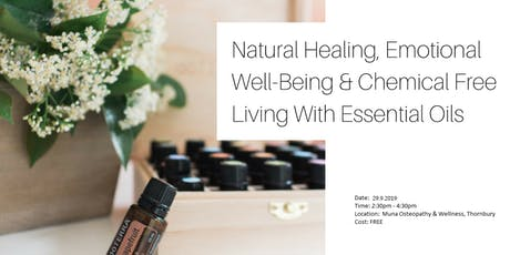 Essential Oils Afternoon - What is all the Hype? (+FREE wellness gift) tickets