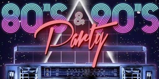 The EPIC 80's & 90's Boat Party!
