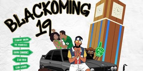 BLACKOMING- UNCC HOMECOMING WEEKEND SEPTEMBER 26-29, 2019 tickets