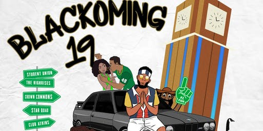BLACKOMING- UNCC HOMECOMING WEEKEND SEPTEMBER 26-29, 2019