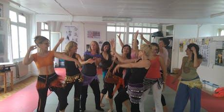 Initiation à la danse orientale réservé aux femmes  billets