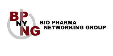 NY Bio Pharma Networking Group (NYBPNG) September 2019 Meeting tickets