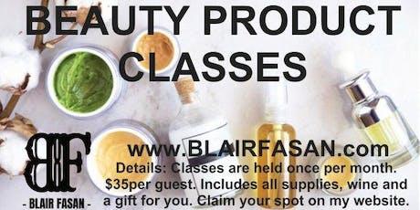 DIY CLASS - Facial & Body Scrub Edition tickets