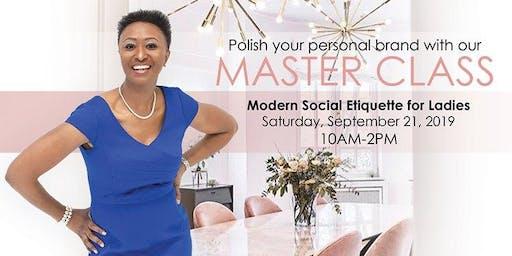 Modern Social Etiquette for Ladies