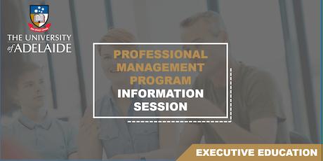 Professional Management Program Information Session tickets