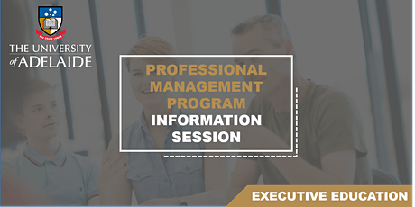 Professional Management Program Information Session tickets