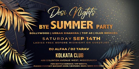Desi Nights - The hottest BOLLYWOOD Party  in Mississauga tickets