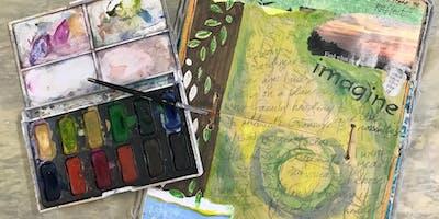 Half Day: Guided Open Studio: Visual Journals w/ Debi West
