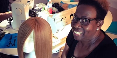 Houston TX |27 Piece or Enclosed Wig Making Class with Sewing Machines tickets