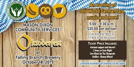 Mason-Dixon Oktoberfest 2019 tickets