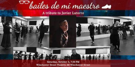 Bailes De Mi Maestro tickets