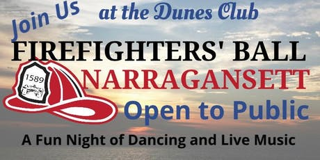 Narragansett Firefighters' Ball tickets