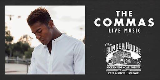 The Commas Live Music