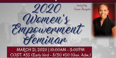 Annual Women's Empowerment Seminar tickets