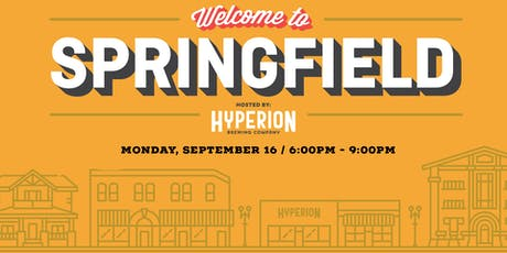 Welcome to Springfield: Networking tickets