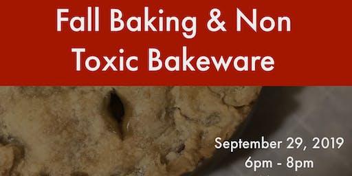 Fall Baking and Non Toxic Bakeware