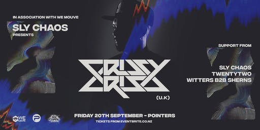 SLY CHAOS Presents: CRISSY CRISS (UK)