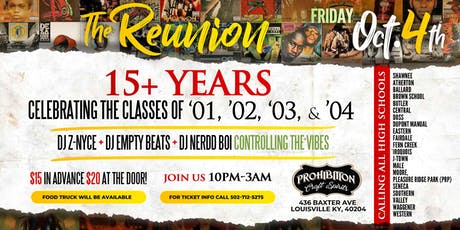 THE REUNION PARTY  tickets