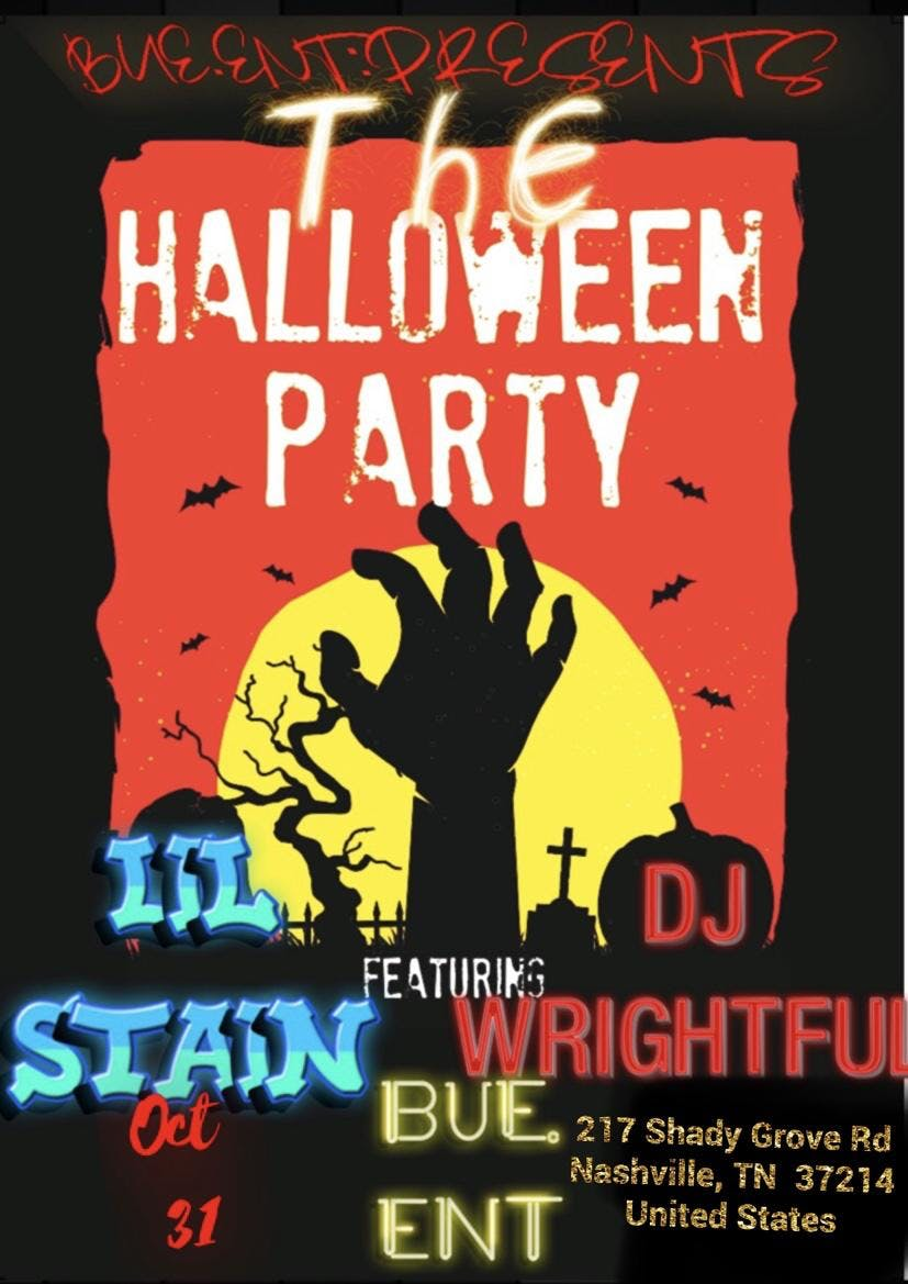 BUE.ENT Halloween Costume party