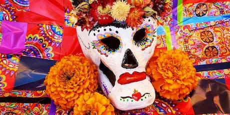 Dia De Los Muertos Sugar Skull Workshop At Red Hat Coffee tickets
