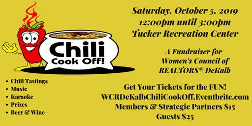 Chili Cook-Off and Fundraiser - Women's Council of REALTORS® DeKalb