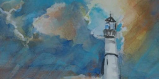 1 Day: Lighthouses, Guiding You Home, a Watercolor Workshop w/ Jan Ross