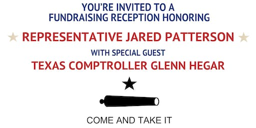 COME AND TAKE IT Fundraiser featuring Texas Comptroller Glenn Hegar