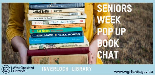 Seniors Week Pop Up Book Chat @ Inverloch Library