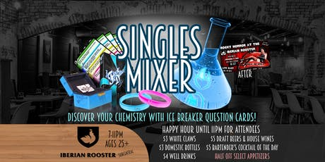Project: First Dates - Singles Mixer at the IBERIAN ROOSTER - 25+ tickets