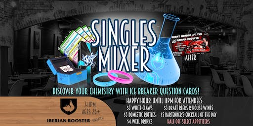 Project: First Dates - Singles Mixer at the IBERIAN ROOSTER - 25+