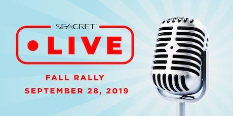 Seacret Live Fall Rally tickets
