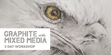 Mixed Media with Graphite 2 day Workshop tickets