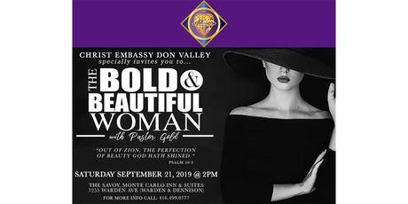 The Bold &  Beautiful Woman tickets
