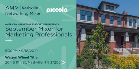 Marketing Professionals Networking Mixer - September 18, 2019 tickets