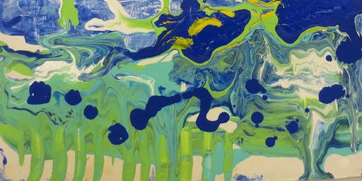 1 Day: Instant Art: The Magic of Fluid Acrylics w/ Alex Sharma