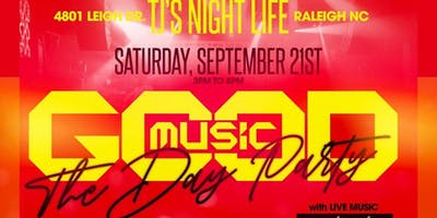 Good Music - A Tribute to the 80s/90s/00s - The Day Party Edition