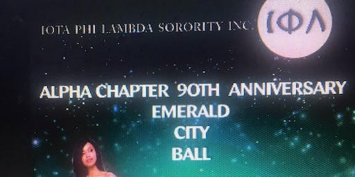 Iota Phi Lambda Sorority, Inc.- Alpha Chapter Emerald City Ball
