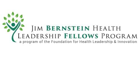 14th Annual Jim Bernstein Health Leadership Dinner tickets