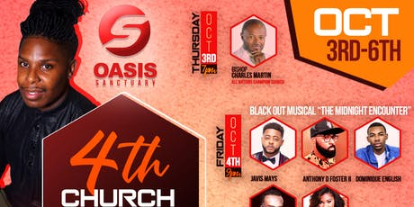Oasis Sanctuary 4th Church Anniversary tickets