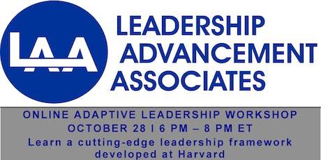 Online Adaptive Leadership Workshop tickets