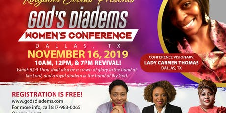 God's Diadems Women's Conference & Revival! tickets