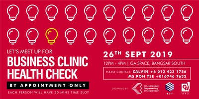 Business Clinic Health Check (SEP KL)