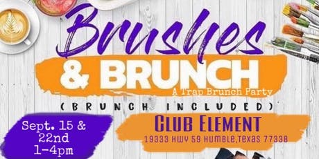 Brushes N Brunch ( A Trap Brunch Paint Party- Northside)  tickets