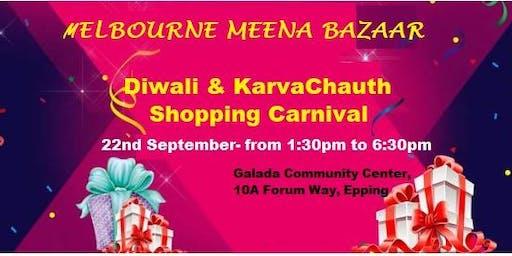 Melbourne Meena Bazaar- Diwali & KarvaChauth Shopping Carnival