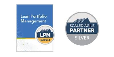 Lean Portfolio Management with LPM Certification in San Francisco