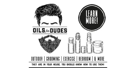 Essential Oils for Dudes! They are in Your House. You Should Know How to Use Them! tickets