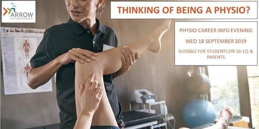 Thinking of being a PHYSIO?