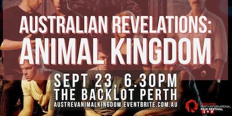 Australian Revelations - Animal Kingdom tickets