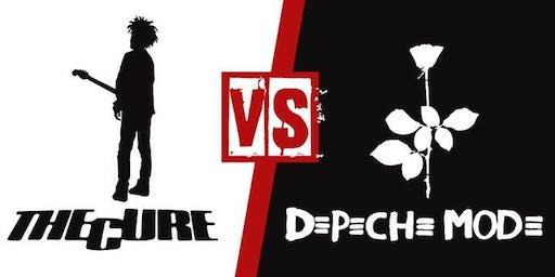 THE CURE vs DEPECHE MODE HALLOWEEN EDITION - A DJ TRIBUTE & COSTUME CONTEST